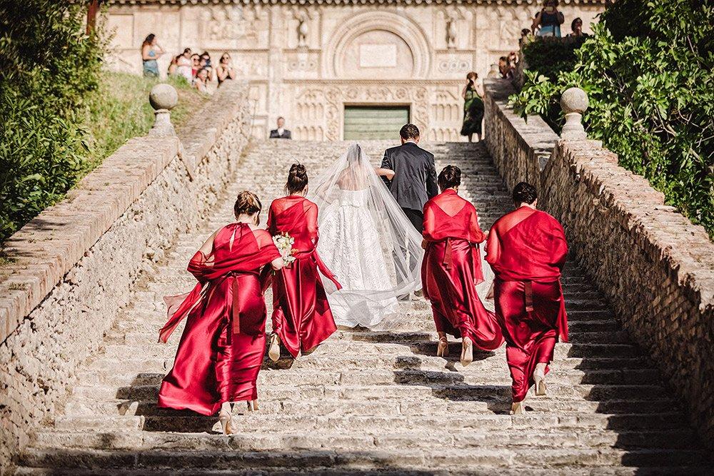 Chiesa di San Pietro Spoleto - Italy Wedding Storytellers