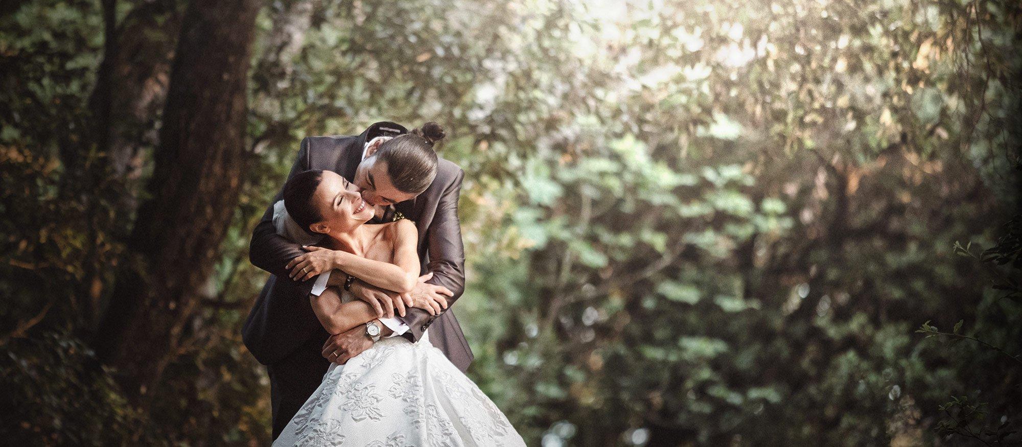 Fotografi di matrimonio a Spoleto