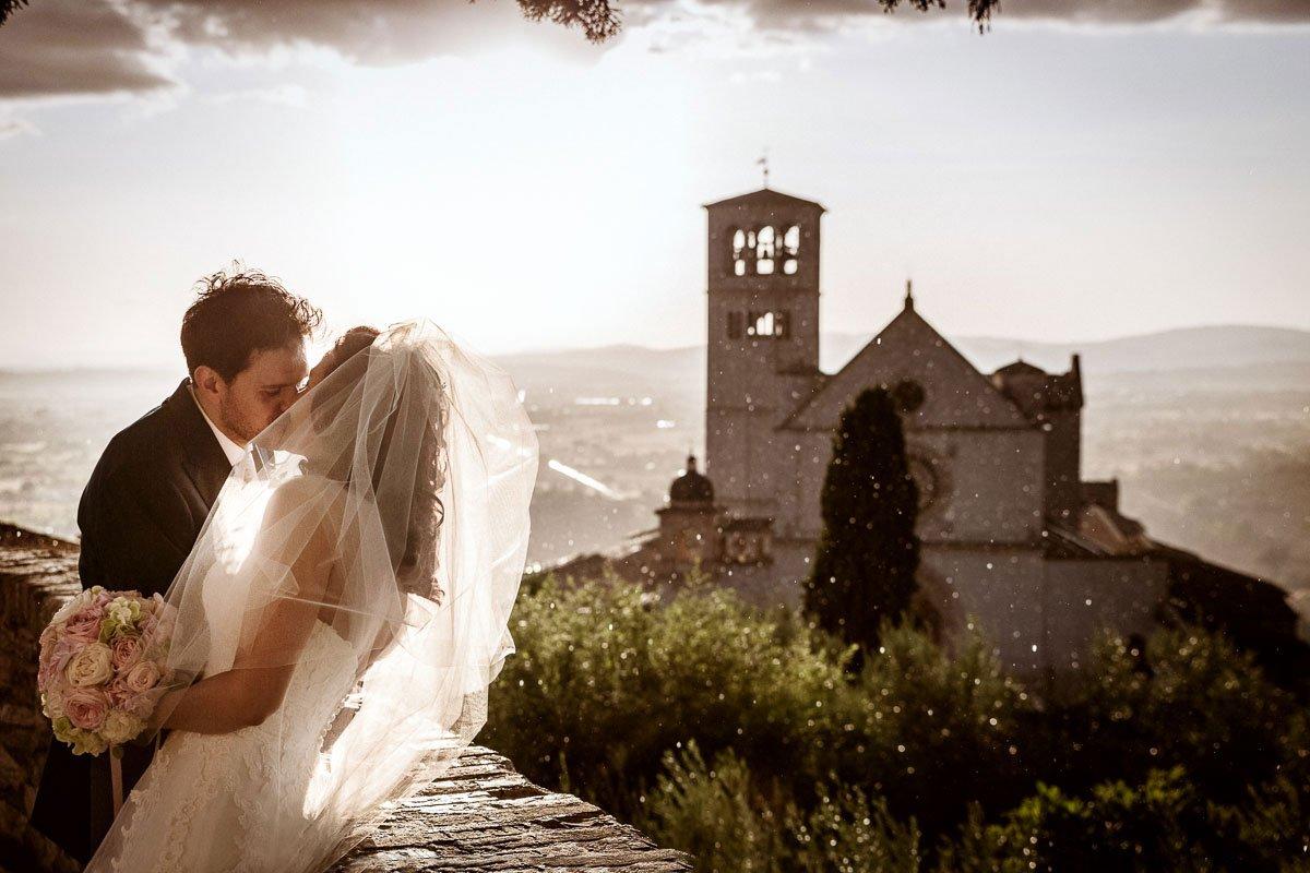 Fotografi di matrimonio ad Assisi