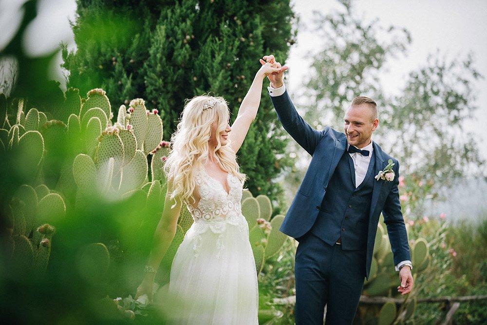 Fotografi di matrimonio a Todi